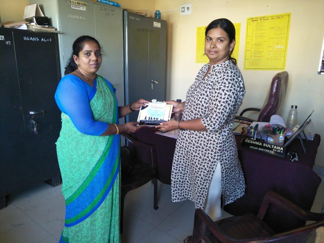 RGA High School, Mysore